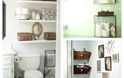 Top 8 Sneaky Storage hacks for your tiny bathroom