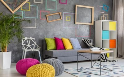 Add colour to your living room with these splendid ideas!