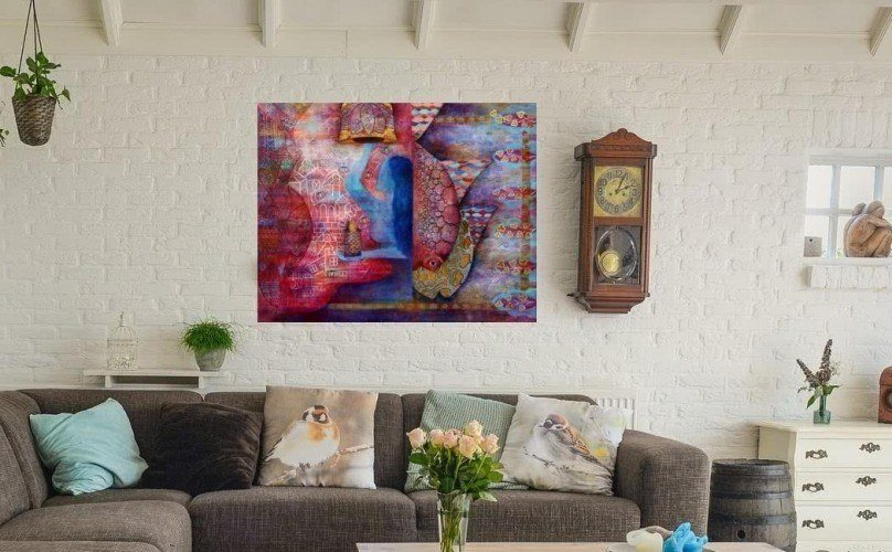how to choose the right living room painting