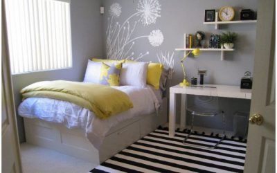Pack your tiny bedroom with stylish ideas