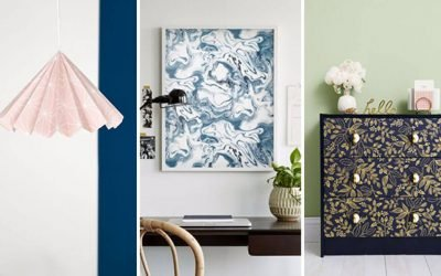 Don't throw that leftover wallpaper