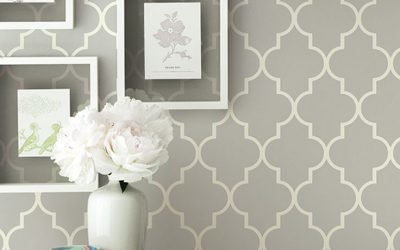 Hanging pictures on wallpaper, yay or nay?